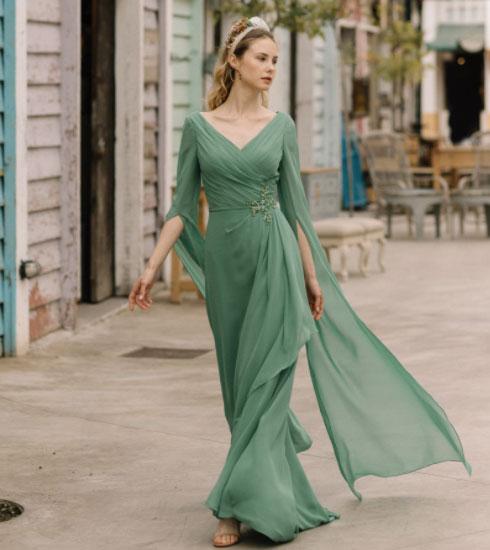 Vestido de fiesta de la firma Fara sposa
